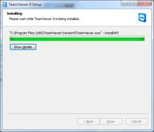 TeamViewer inštalácia