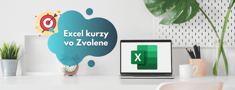 Excel kurzy pre firmy - Zvolen
